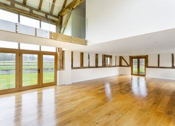 Thumbnail 5 bedroom barn conversion to rent in Church Road, Horne, Horley