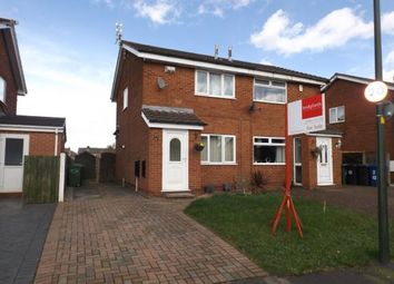 Thumbnail 2 bed semi-detached house for sale in Cottesmore Way, Golborne, Warrington, Greater Manchester