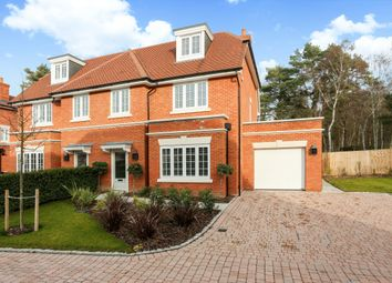 Thumbnail 4 bed semi-detached house to rent in Kingswood, Ascot