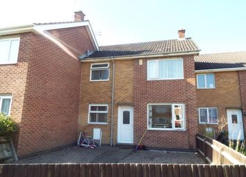 Thumbnail 3 bed terraced house for sale in Sloethorne Gardens, Arnold, Nottingham