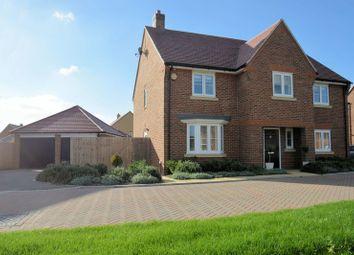 Thumbnail 4 bed detached house for sale in Barnett Road, Steventon, Abingdon