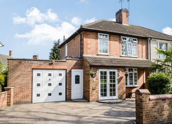 Thumbnail 3 bed semi-detached house for sale in Hallam Crescent East, Leicester