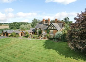 Thumbnail 6 bed detached house for sale in Beeston, Tarporley, Cheshire