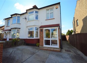 Thumbnail 4 bed semi-detached house for sale in Kitchener Avenue, Gravesend