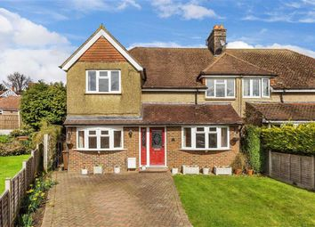 Thumbnail 4 bedroom semi-detached house for sale in Granville Road, Oxted, Surrey