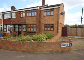 Thumbnail 3 bed end terrace house for sale in Churchill Crescent, Stanford-Le-Hope