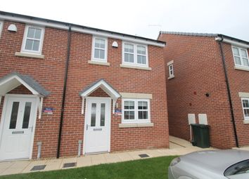 Thumbnail 2 bed semi-detached house to rent in Hawk Drive, Blaxton, Doncaster