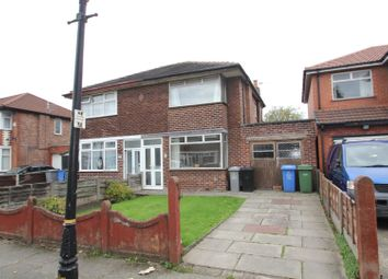 Thumbnail 2 bed semi-detached house for sale in Styal Avenue, Stretford, Manchester