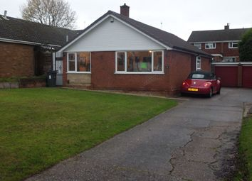 Thumbnail 3 bed bungalow to rent in Fitzroy Avenue, Harborne