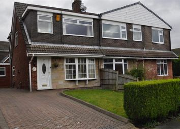 Thumbnail 3 bed semi-detached house for sale in Charlton Avenue, Newton, Hyde