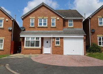 Thumbnail 4 bed detached house for sale in Elmstone Close, Dudley