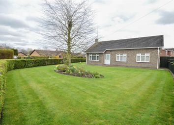 Thumbnail 3 bedroom detached bungalow for sale in The Chase, Crowland, Peterborough