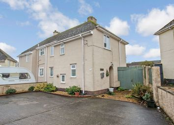 Thumbnail 4 bed semi-detached house for sale in Barnfield, Crediton