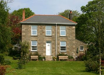 Thumbnail 4 bed detached house for sale in Roscroggan, Camborne, Cornwall