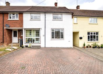 Thumbnail 3 bed terraced house for sale in Downedge, St Albans, Hertfordshire