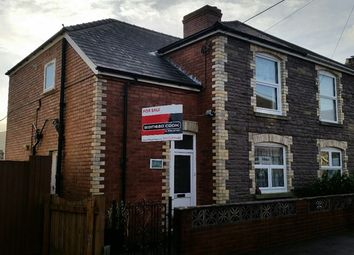 Thumbnail 3 bed semi-detached house for sale in Clifton Road, Abergavenny