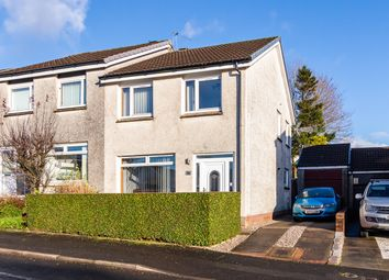 Thumbnail 3 bed semi-detached house for sale in Invergarry Drive, Thornliebank, Glasgow