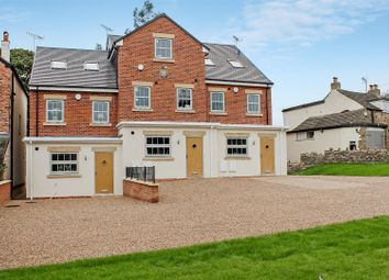 Thumbnail 4 bedroom town house for sale in The Square, Cutthorpe, Chesterfield