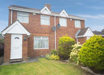 Thumbnail 3 bed semi-detached house for sale in Glenwood Court, Lisburn, County Antrim