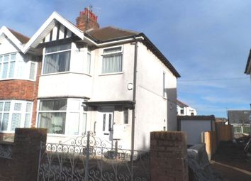 Thumbnail 3 bed semi-detached house for sale in Lunedale Avenue, Blackpool