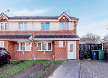 3 bed semi-detached house for sale in Bloor Mill Close, Willenhall, West Midlands WV13