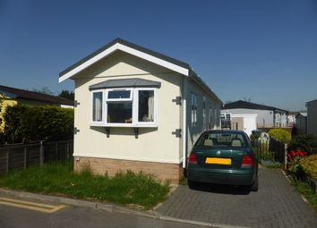 Thumbnail 1 bed mobile/park home for sale in Eastern Avenue, Penton Park, Chertsey