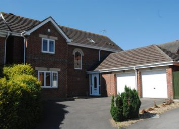 Thumbnail 4 bed detached house for sale in Henman Close, Abbey Meads, Swindon
