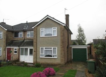 Thumbnail 3 bed semi-detached house to rent in Ash Close, Irchester, Wellingborough