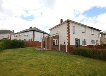 Thumbnail 3 bed semi-detached house for sale in Alnwick Terrace, Wideopen, Newcastle Upon Tyne