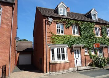Thumbnail 4 bed semi-detached house for sale in Ryder Drive, Muxton, Telford