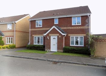 Thumbnail 4 bed detached house for sale in Fairplace Close, Broadlands, Bridgend.