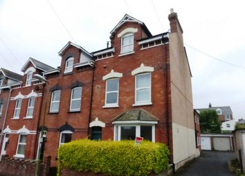 Thumbnail 1 bed flat to rent in Culverland Road, Exeter