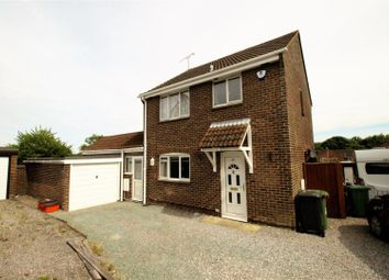 Thumbnail 3 bed detached house for sale in Castlefield Close, Eastleaze, Swindon
