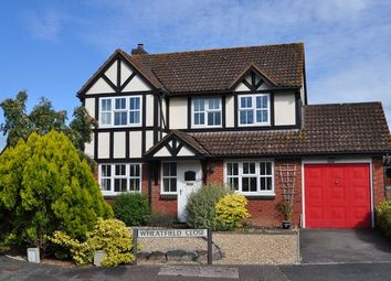 Thumbnail 4 bedroom detached house for sale in Wheatfield Close, Cullompton