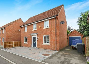 Thumbnail 3 bedroom detached house for sale in Tummel Way, Attleborough