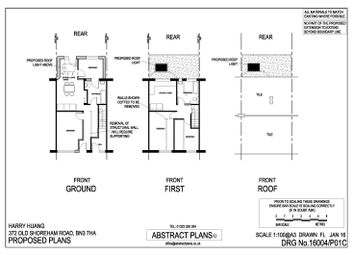 Thumbnail 4 bed terraced house for sale in Old Shoreham Road, Hove, Brighton