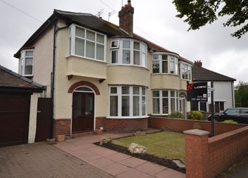 Thumbnail 3 bedroom semi-detached house to rent in The Northern Road, Crosby, Liverpool