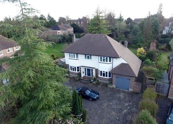 Thumbnail 4 bed detached house for sale in Links Road, Epsom
