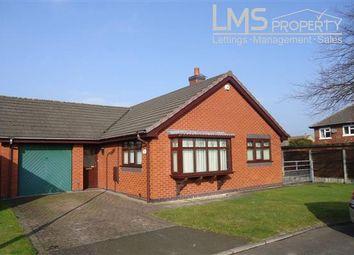 Thumbnail 2 bed bungalow to rent in Delamere Rise, Winsford