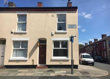 Thumbnail 2 bedroom end terrace house for sale in Whittier Street, Liverpool