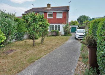 Thumbnail 2 bed semi-detached house for sale in Outerwyke Avenue, Felpham, Bognor Regis