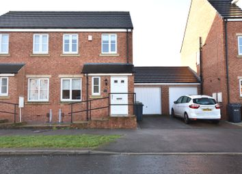 Thumbnail 2 bed semi-detached house for sale in Whinmoor Way, Leeds