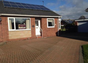 Thumbnail 2 bed semi-detached house for sale in Park Gardens, Snaith, Goole, North Humberside