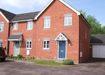 Thumbnail 3 bed end terrace house for sale in Thurlow Close, Saxmundham, Suffolk