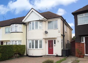 Thumbnail 3 bedroom end terrace house for sale in Browning Road, Luton