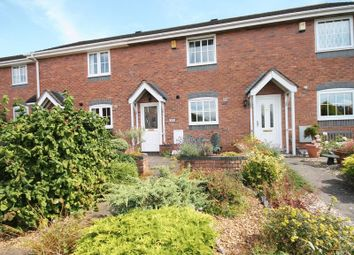 Thumbnail 2 bed terraced house for sale in Waterside Drive, Market Drayton