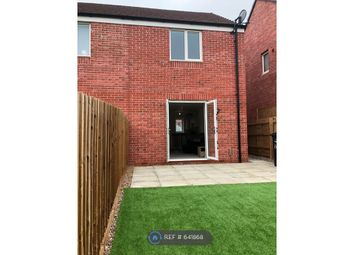 Thumbnail 2 bed semi-detached house to rent in Fortress Close, Weldon, Corby