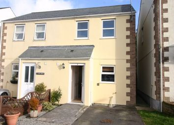 Thumbnail 2 bed semi-detached house to rent in Carn Bargus, Whitemoor, Cornwall