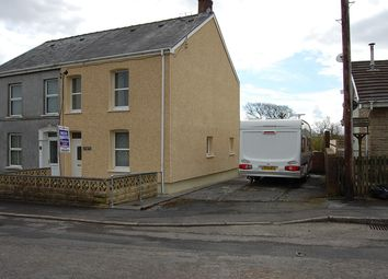 Thumbnail 3 bed semi-detached house for sale in Park Avenue, Capel Hendre, Ammanford