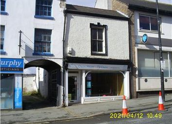 Retail premises for sale in High Street, Mold, Flintshire CH7